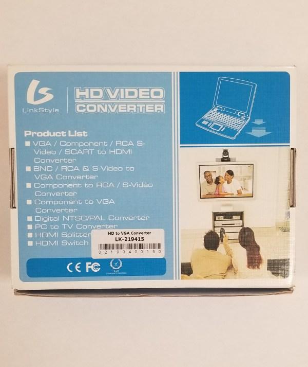 LinkStyle HD Video Converter LK-219415