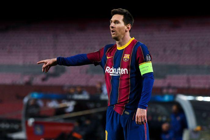 Barcelona boss Koeman provides a Messi injury update