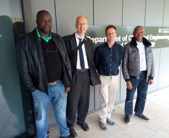 INTERNATIONAL TRIPARTITE PARTNERSHIP TO PROMOTE ELECTROCHEMICAL SCIENCE AND TECHNOLOGY IN SUB SAHARAN AFRICA