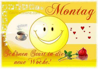 Montag Gb Pics Gb Bilder Gastebuchbilder Facebook Bilder