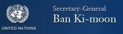 UN Ban Ki-moon