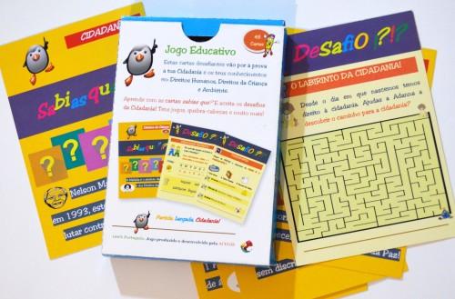 Jogo da Cidadania - Cartas Educativas - ACEGIS