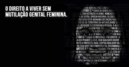 Campanha- «Direito a Viver sem Mutilação Genital Feminina» - ACEGIS