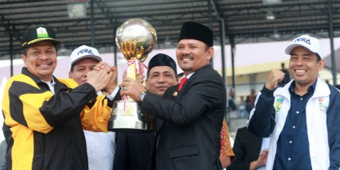 Tuan Rumah Aceh Besar Juara Umum PORA XIII