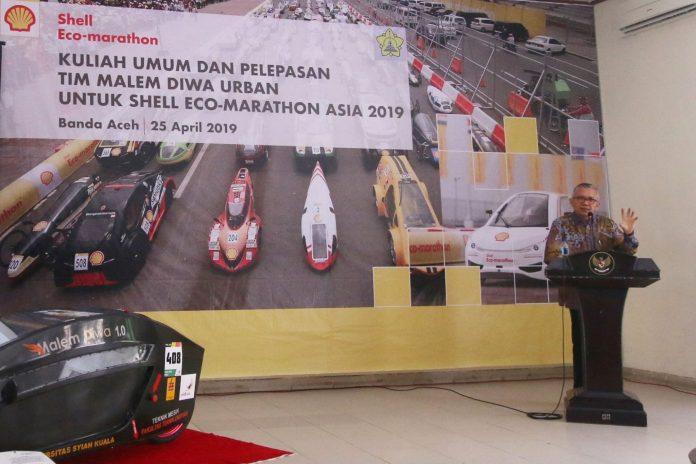 Mobil Listrik Unsyiah 'Malim Diwa Urban' Ikut Kompetisi Shell Eco-marathon di Malaysia