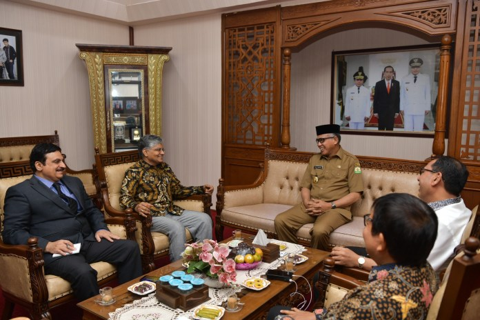 Dubes India Tawarkan Sejumlah Kerja Sama dengan Aceh