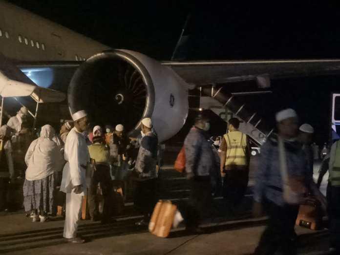 2 Meninggal di Arab Saudi, 388 Jemaah Haji Asal Pidie Sudah Tiba Kembali di Aceh
