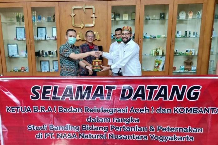 Ketua BRA Ajak PT NASA Bantu Berdayakan Ekonomi Eks Kombatan di Aceh