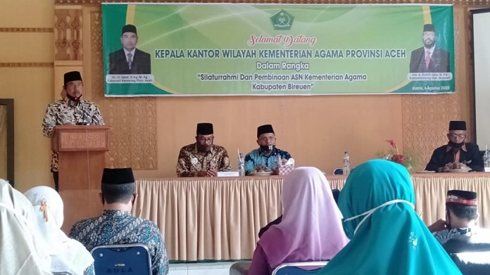 Kakanwil Kemenag Aceh: Jadi ASN, Jangan Mau Enaknya Saja