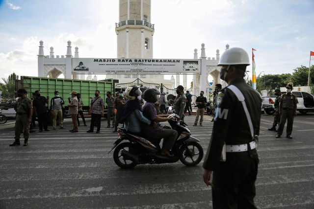 Banda Aceh Perketat dan Perluas Area Razia Prokes Tekan Penyebaran COVID-19