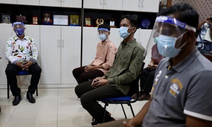 Tiga Nelayan Aceh yang Sempat Ditahan di India Tiba di Tanah Rencong