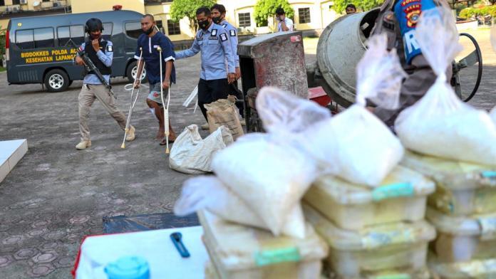 Berantas Narkoba, Polda Aceh Musnahkan 404,9 Kilogram Sabu-Sabu
