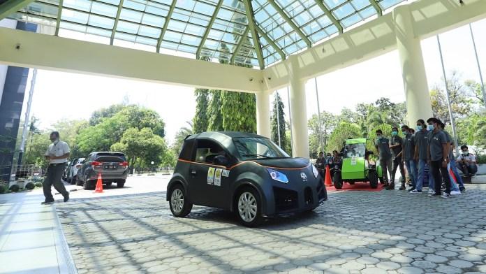 Glueh 1.0, Mobil Listrik City Car Buatan Mahasiswa Universitas Syiah Kuala