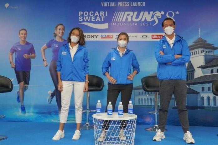 Pocari Sweat Run Indonesia 2021 Digelar secara Hybrid, Targetkan 100 Ribu Pelari