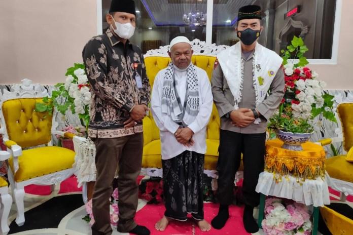 Sambangi Abu Paya Pasi, Kapolda Aceh Minta Dukungan Ulama Jaga Kamtibmas