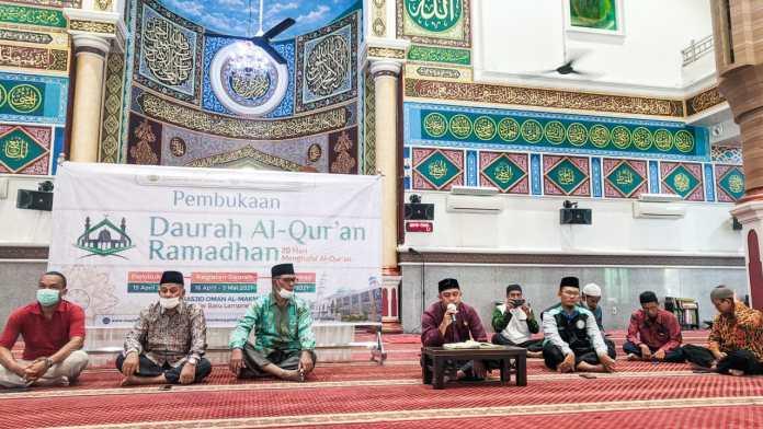 Daurah Al-Qur'an Ramadhan Kembali Digelar di Masjid Oman Al Makmur Banda Aceh