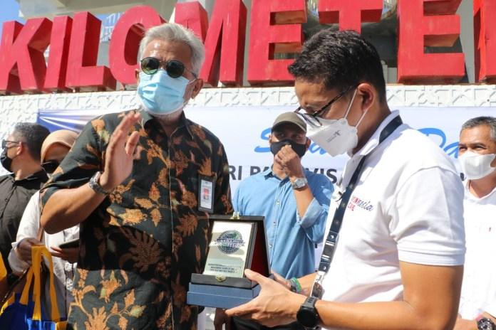 Kunker ke Aceh, Sandiaga Uno Kunjungi Sejumlah Tempat Wisata di Sabang