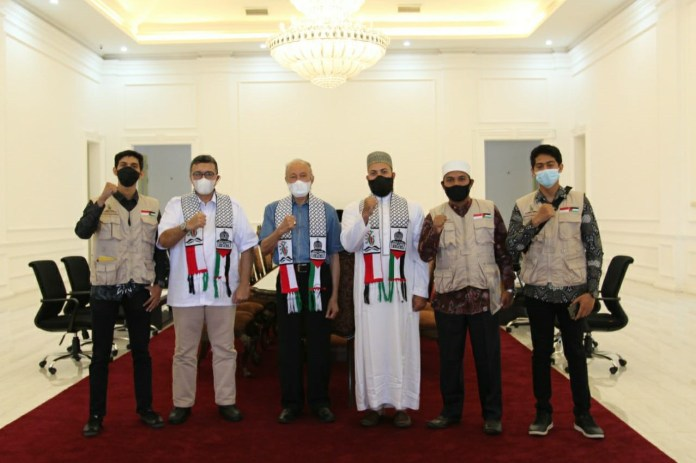 Wali Nanggroe Serukan Dukungan untuk Rakyat Palestina