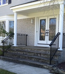 Columns Amp Railings Ace Home Improvements Of Manalapan NJ