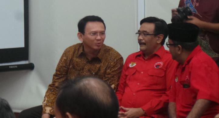 PDI Perjuangan Resmi Usung Ahok-Djarot pada Pilkada DKI Jakarta 2017