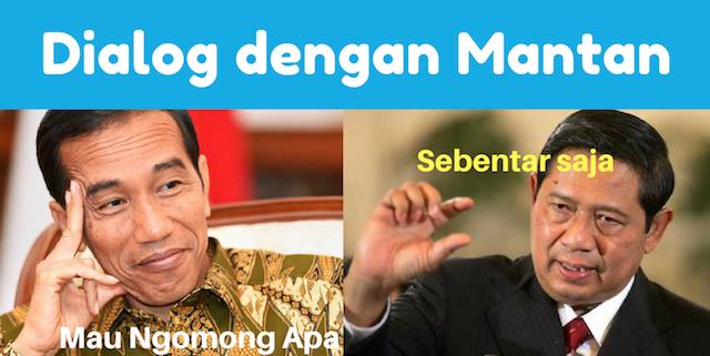 Di Sosial Media, SBY dan Jokowi Memang Beda