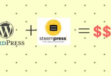 steempress plugin