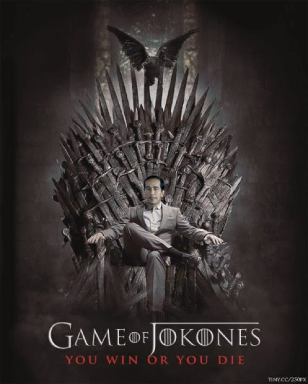 Presiden Jokowi Penggemar Game of Thrones