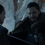 Jon Snow dan Arya Stark