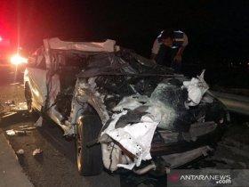 Tabrakan Beruntun Libatkan 4 Kendaraan, Dua Penumpang CRV Meninggal