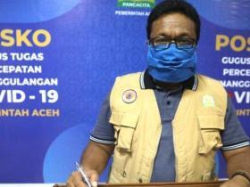 Kasus Positif Covid-19 di Aceh