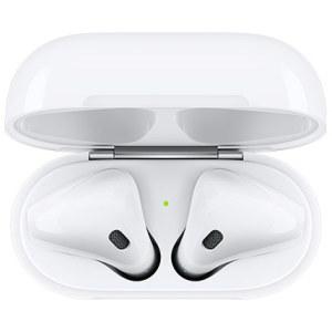 אוזניות אפל עם כיסוי טעינה אחריות יבואן רשמי ! Apple Airpods 2 with Charging Case Bluetooth