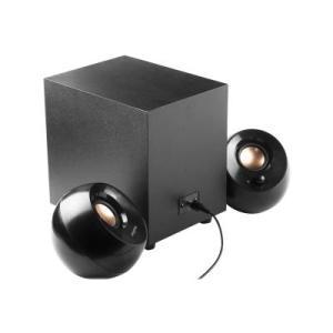 רמקולים CREATIVE pebble+ 2.1 black – 51MF0480AA000