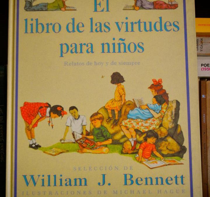 LIBROS / El libro de las virtudes para niños