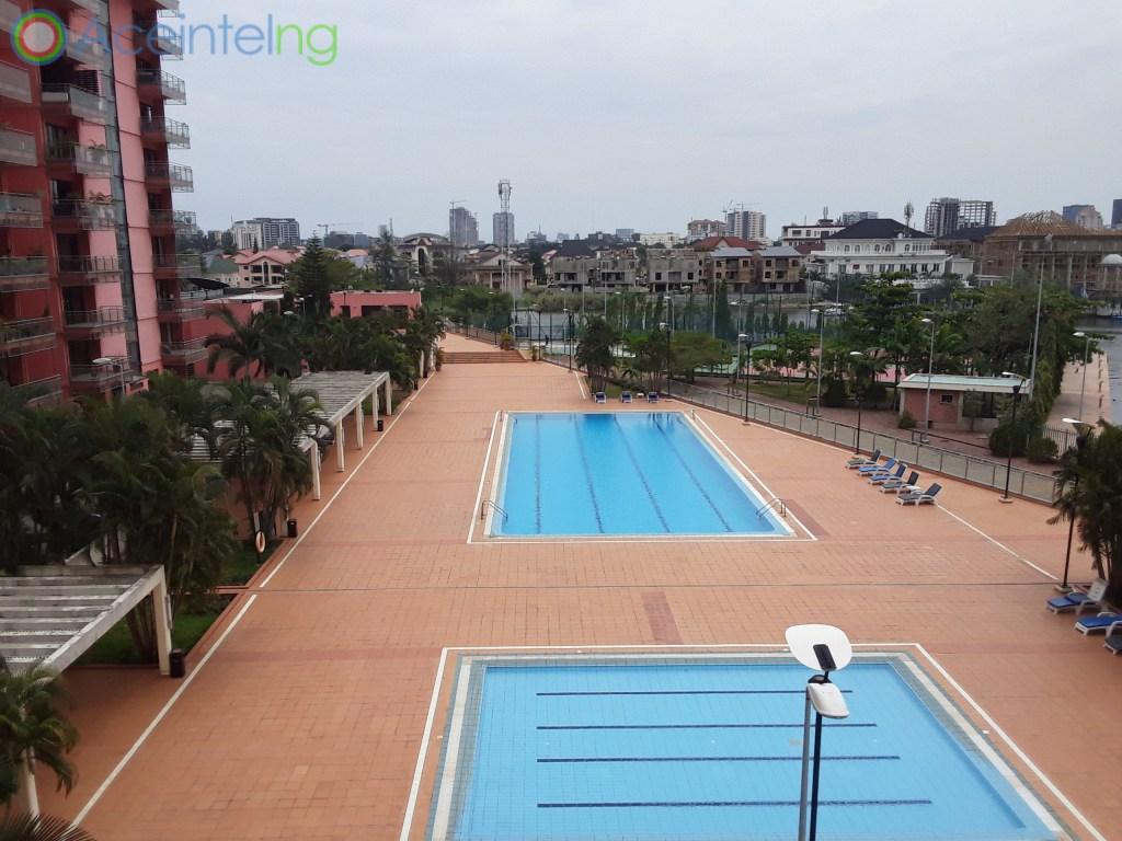 4 bedroom flat for rent in Ocean Parade Banana Island Ikoyi Lagos Nigeria - swiming pool