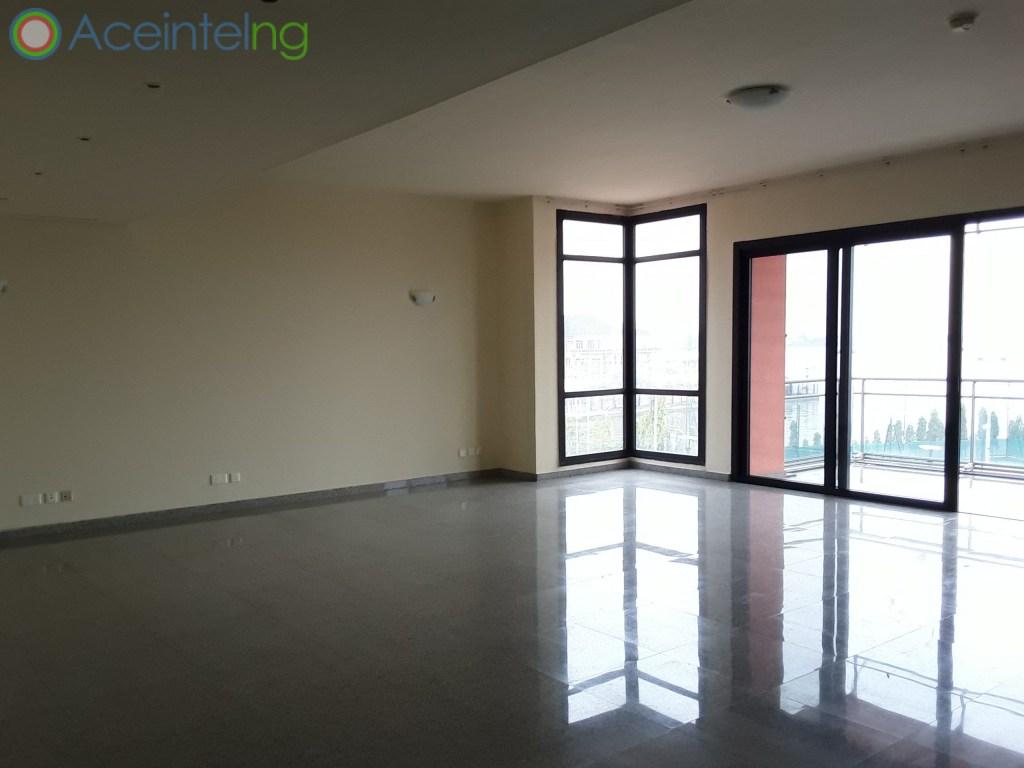 4 bedroom flat for rent in Ocean Parade Banana Island Ikoyi Lagos (water front) - living room