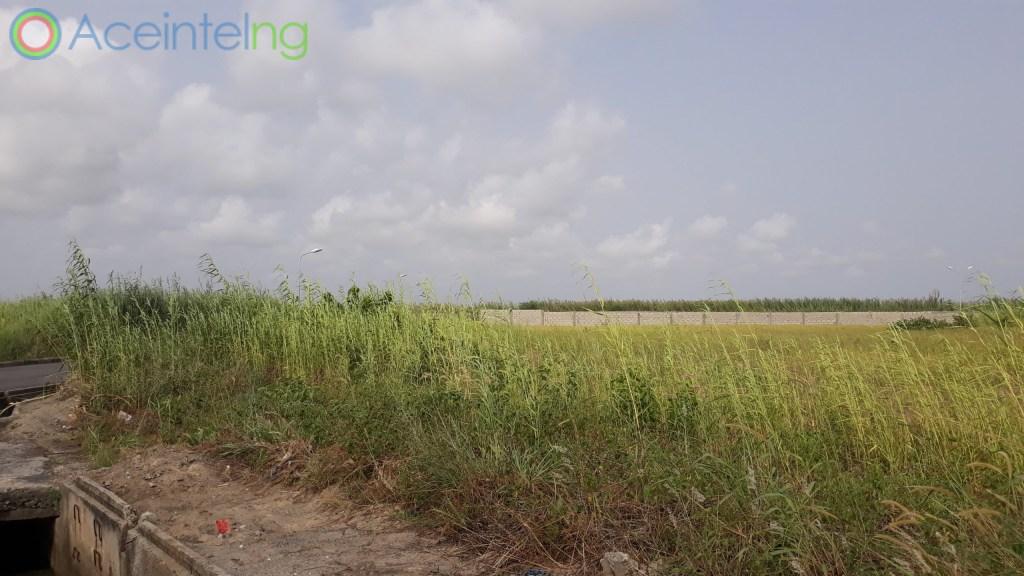 land for sale in pinnock beach estate osapa lekki lagos - view
