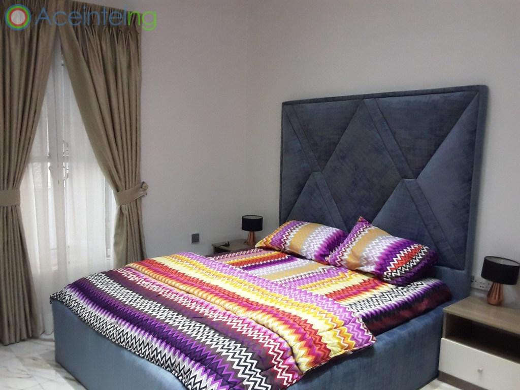 5 bedroom duplex for shortlet in chevron lekki lagos - bedroom 3