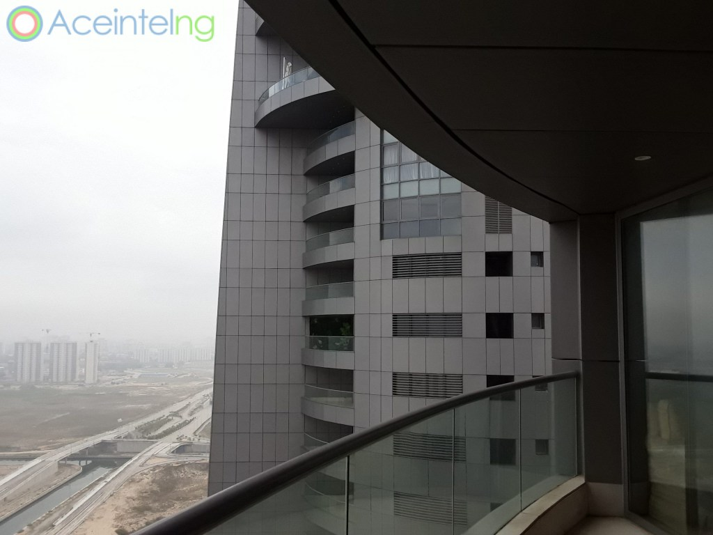 3 bedroom flat for rent in Eko Atlantic, Eko Pearl VI - balcony