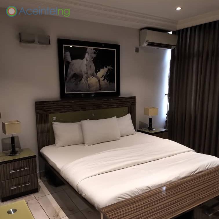 3 bedroom flat for short let in 1004 VI - bedroom