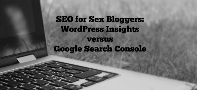 seo for sex bloggers main image for wordpress insights versus google search console