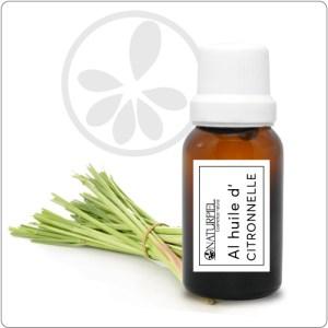 Aceite esencial de Citronela – Orgánico 100% puro