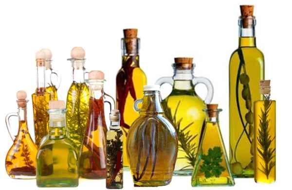 aceites vegetales macerados