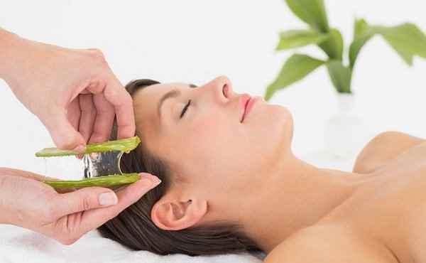 aceite de aloe vera para la cara