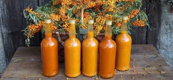 aceite esencial de espino de mar