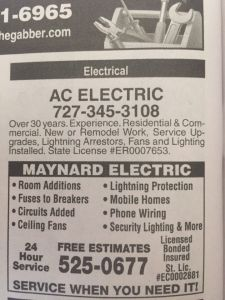 AC Electric Ad