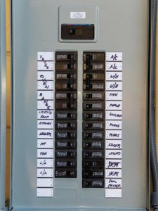 Label Electric Panel