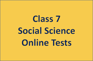 Class 7 Social Science Online Tests