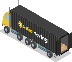 Aceline moving truck