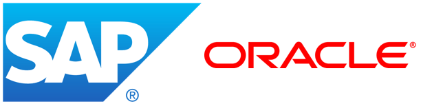 SAP and Oracle Logos