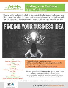 Finding your Business Idea 27JAN18 Final